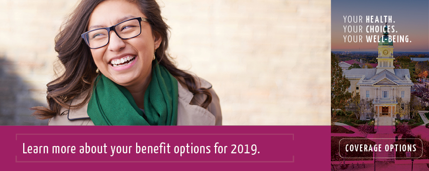 Banner for Benefit Options 2019