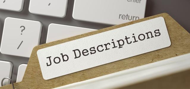 Job description Button