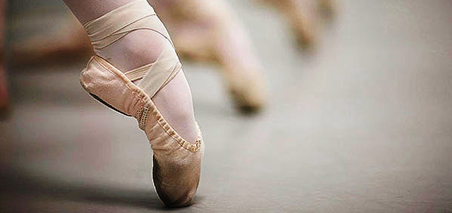picture of ballet slippers