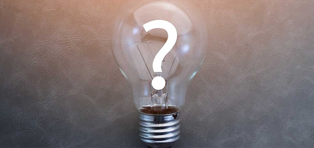 lightbulb with question mark representing miscellaneous